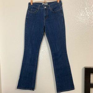 Levi's | EUC 515 Bootcut Blue Jeans - Size 6 LONG
